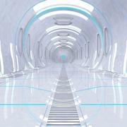 Sci fi回廊 3d model