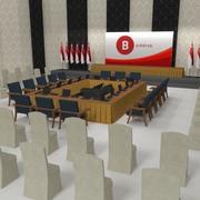 Salle de réunion 3d model
