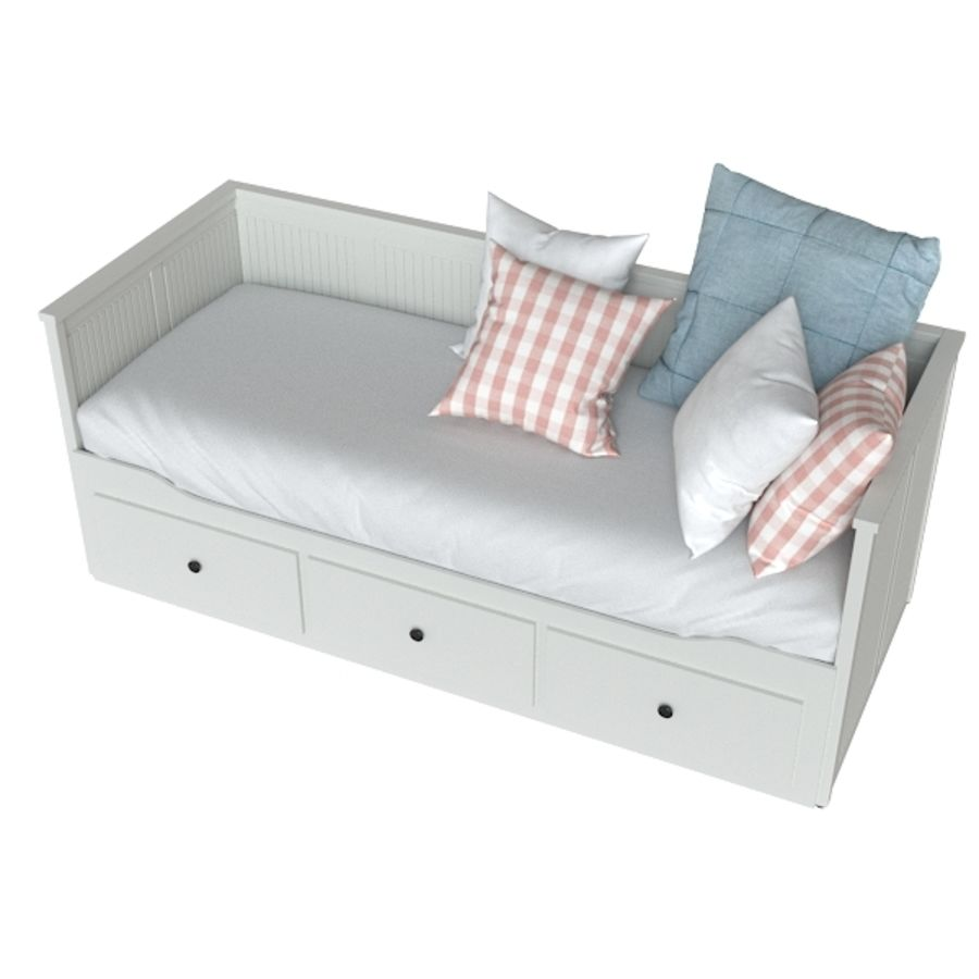 IKEA HEMNES royalty-free 3d model - Preview no. 3