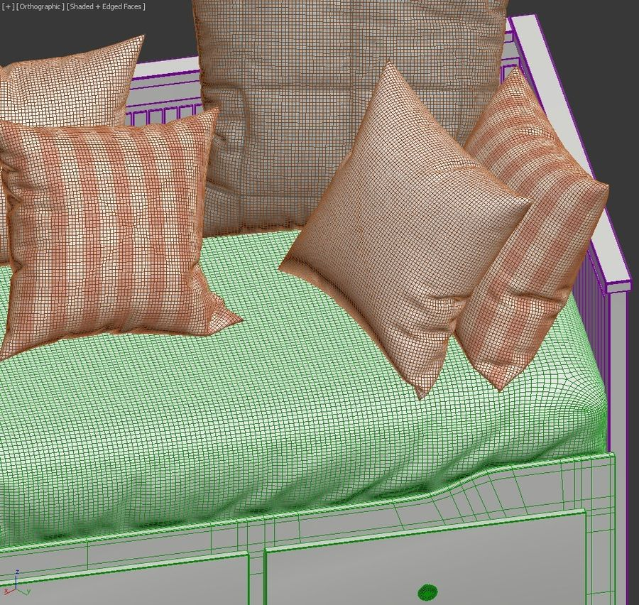 IKEA HEMNES royalty-free 3d model - Preview no. 5