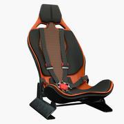 Racing stoel 3d model