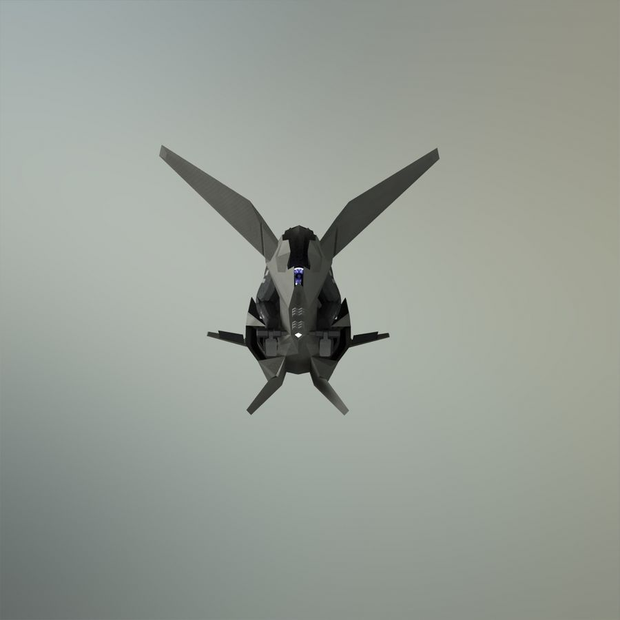 V-1 Jet Bike royalty-free 3d model - Preview no. 15