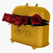 Rose Box 3d model