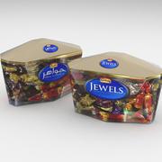 Galaxy Jewels Assorted Chocolates 650g 3d model