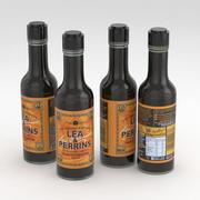 Lea Perrins Worcestershire Sauce 150ml 3d model