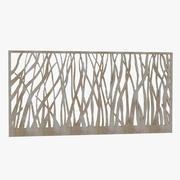 最高的13931 Amadahy金属墙Ar装饰画框 3d model