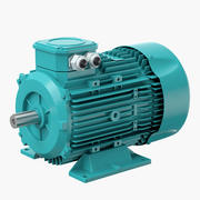 Motore elettrico v2 3d model