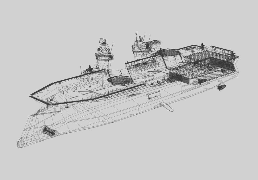 수륙 양용 폭행 royalty-free 3d model - Preview no. 8