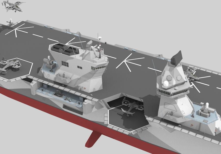 수륙 양용 폭행 royalty-free 3d model - Preview no. 7