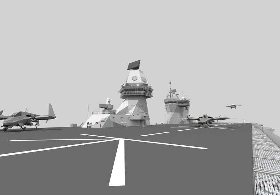 수륙 양용 폭행 royalty-free 3d model - Preview no. 6