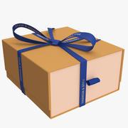 Caixa de presente elegante 3d model