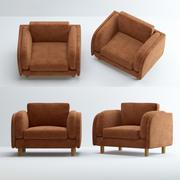 LOUNGE-chair 3d model