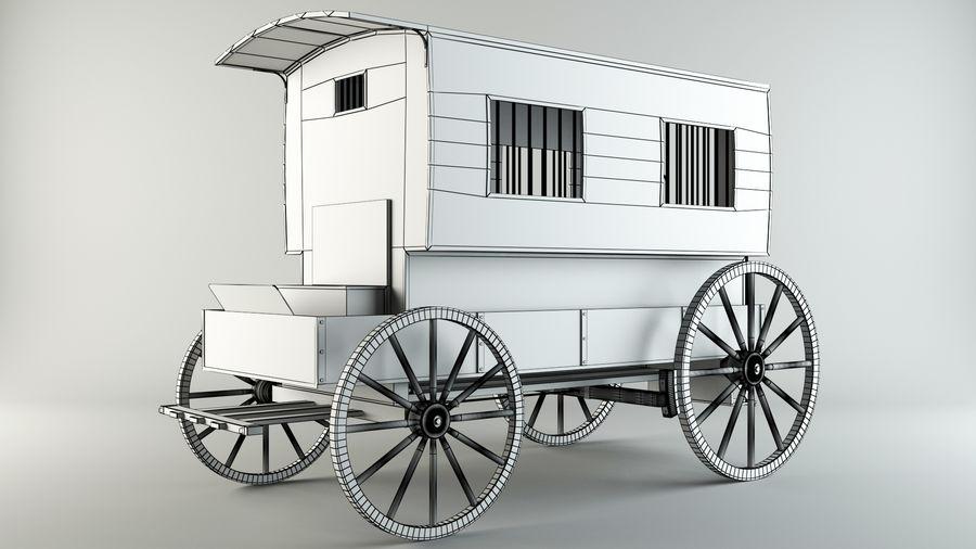 Mahkum Taşıma royalty-free 3d model - Preview no. 6