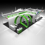 Exhibition Booth 12 3d model