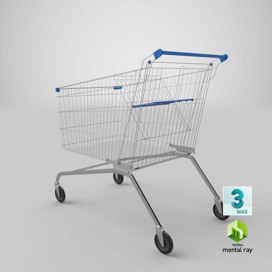 Carrinho de supermercado royalty-free 3d model - Preview no. 25