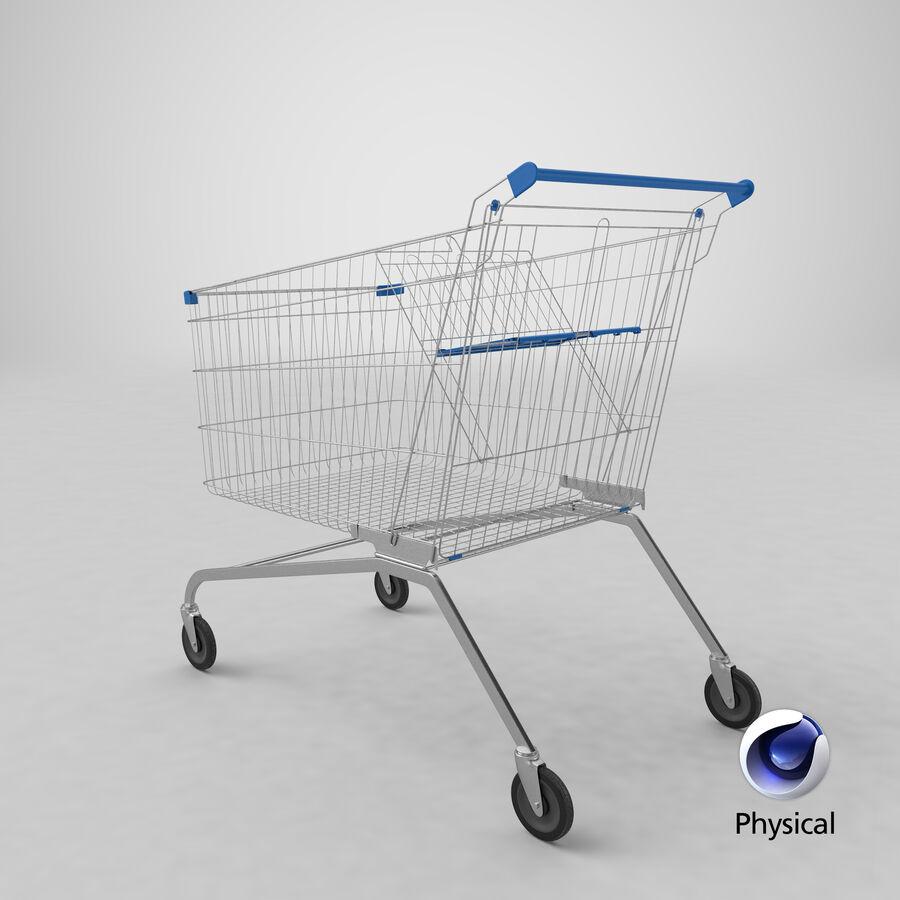 Carrinho de supermercado royalty-free 3d model - Preview no. 28