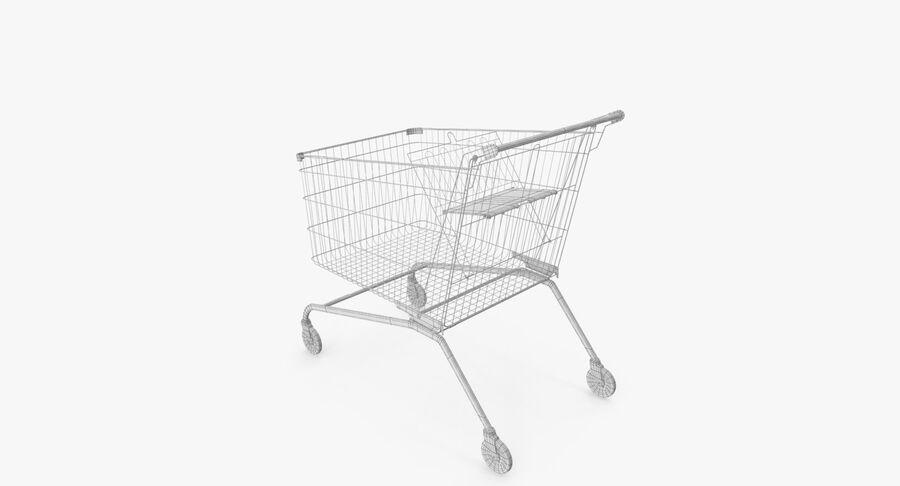 Carrinho de supermercado royalty-free 3d model - Preview no. 14
