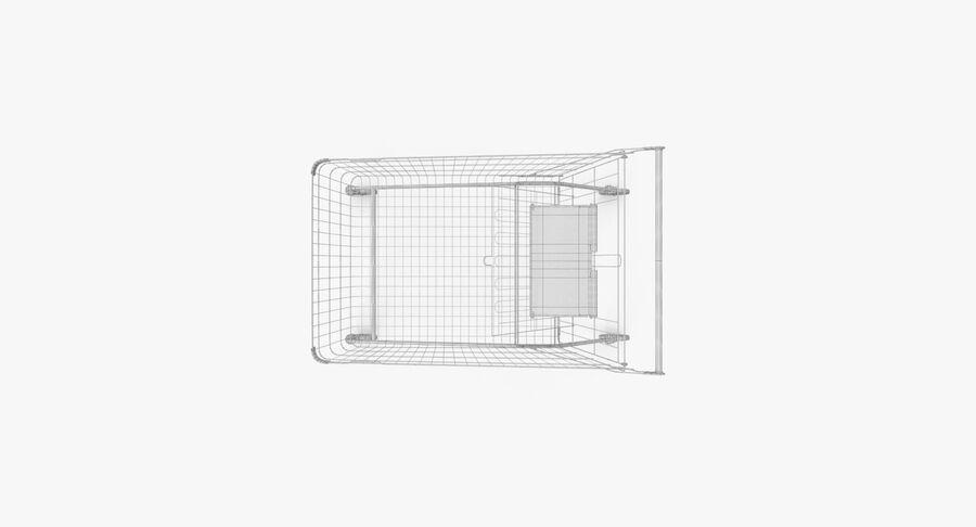 Carrinho de supermercado royalty-free 3d model - Preview no. 13