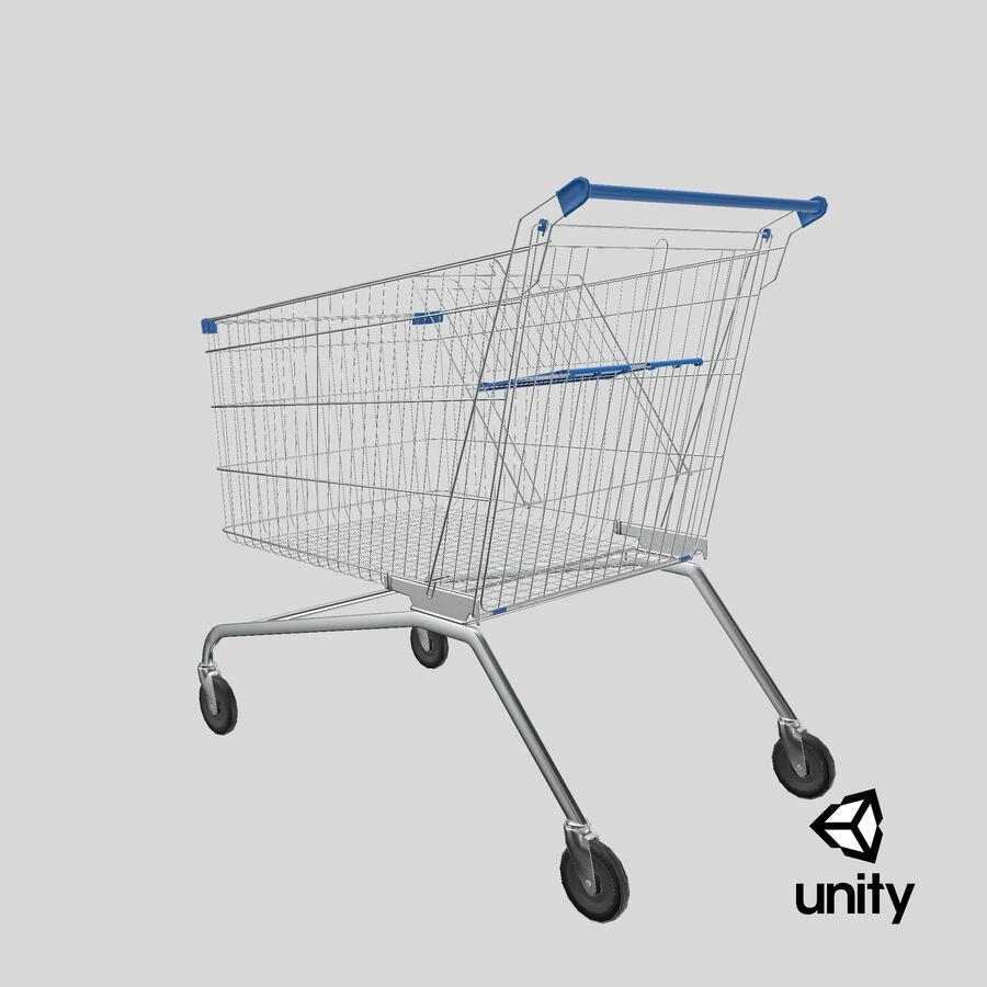 Carrinho de supermercado royalty-free 3d model - Preview no. 27