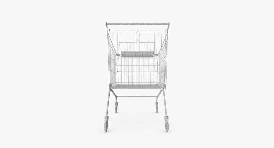 Carrinho de supermercado royalty-free 3d model - Preview no. 17