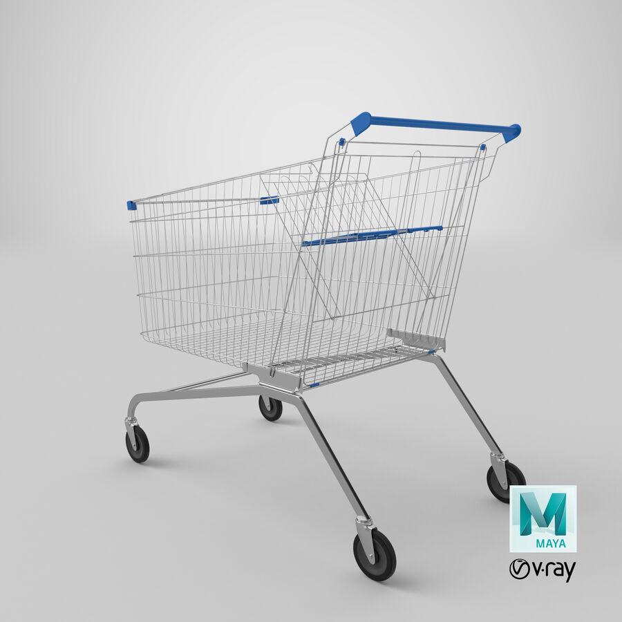 Carrinho de supermercado royalty-free 3d model - Preview no. 22