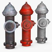 Street Elements Hydrant 3d model