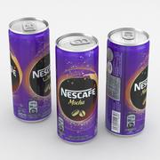 Beverage Can Iced Coffee Nescafe Mocha 240ml 3d model
