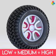 Tire Wheel Design Rim3 3d model
