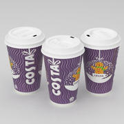 Costa Christmas Coffe Cup B Large 3d model