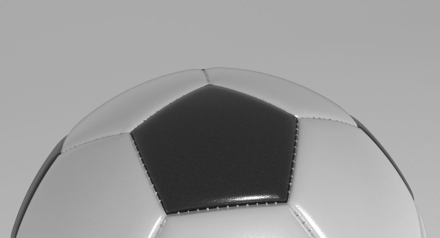 Soccer Ball Football royalty-free 3d model - Preview no. 7