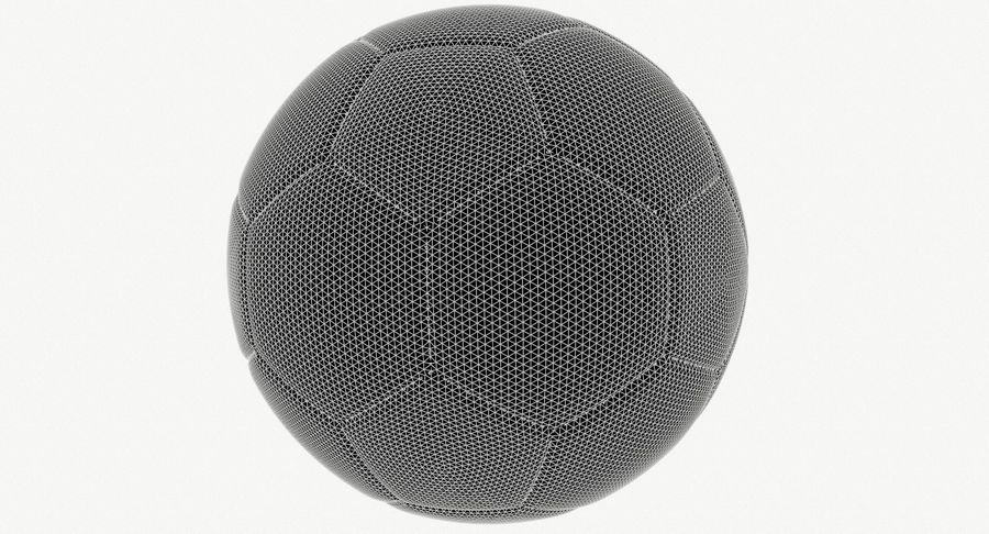 Soccer Ball Football royalty-free 3d model - Preview no. 9