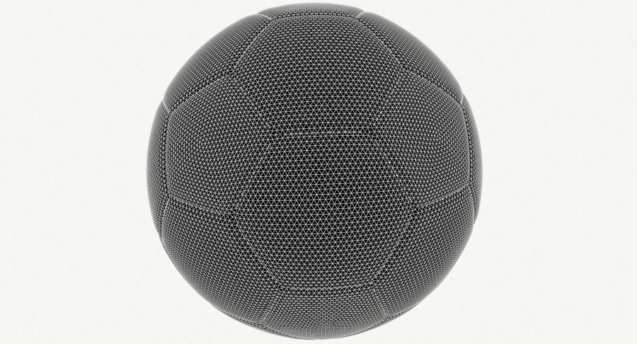 Soccer Ball Football royalty-free 3d model - Preview no. 8