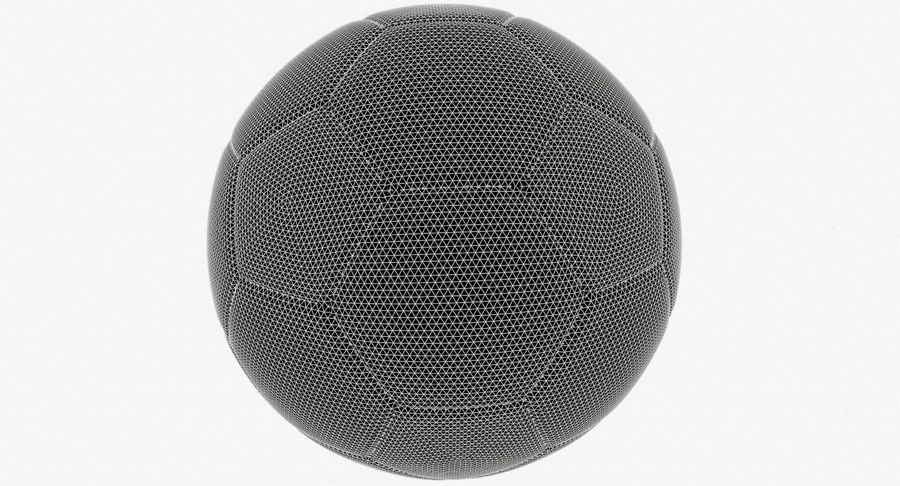 Piłka nożna Piłka nożna royalty-free 3d model - Preview no. 8