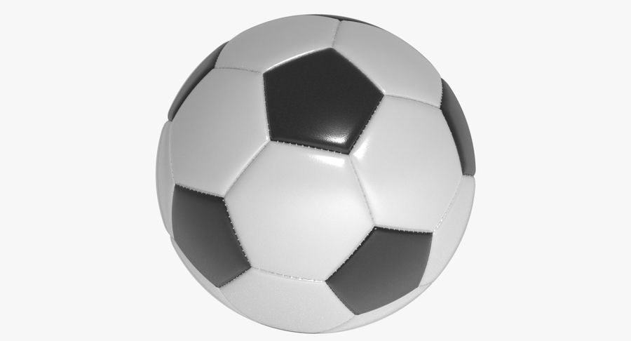 Soccer Ball Football royalty-free 3d model - Preview no. 2