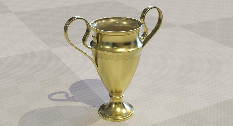 Спорт Трофи royalty-free 3d model - Preview no. 2