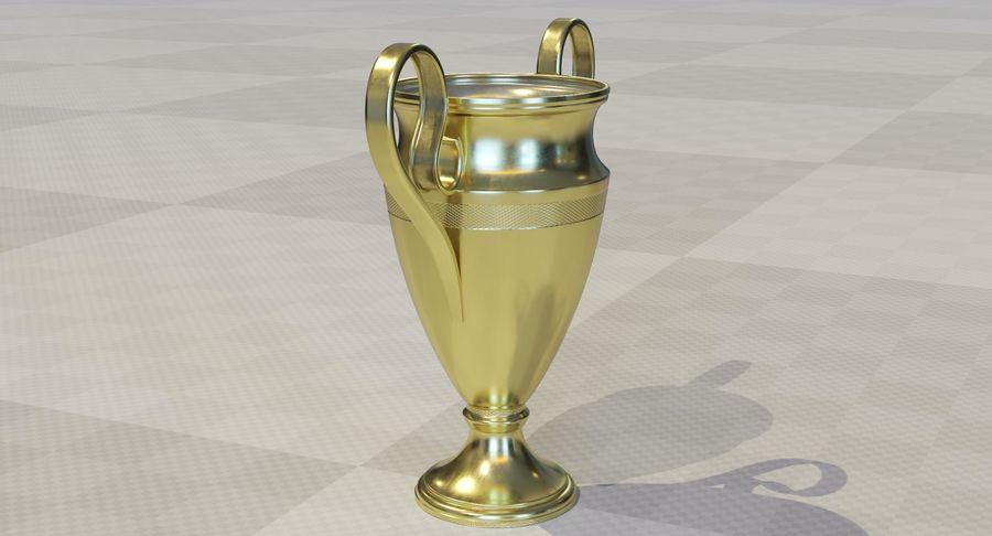 Спорт Трофи royalty-free 3d model - Preview no. 4