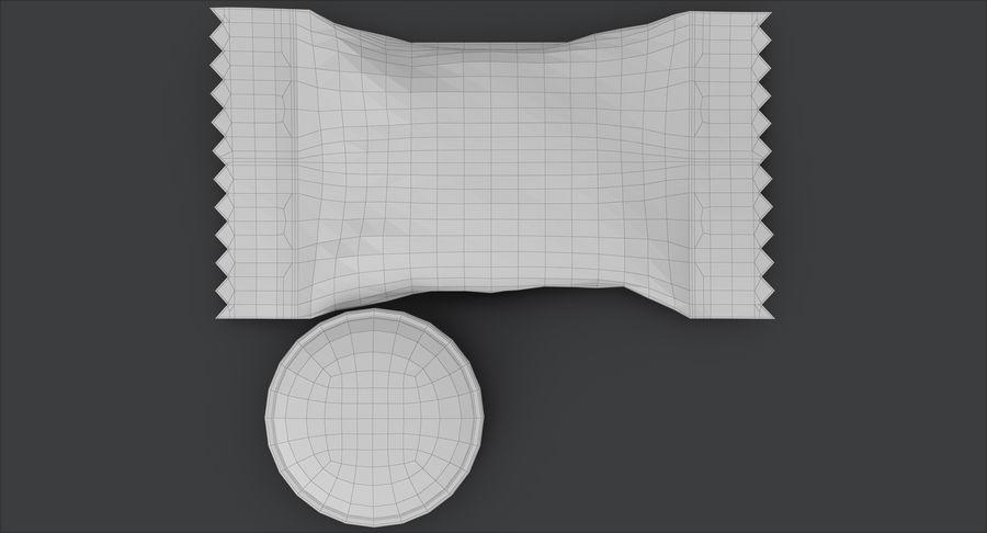 Empacotamento modelado dos doces duros do caramelo v2 royalty-free 3d model - Preview no. 21