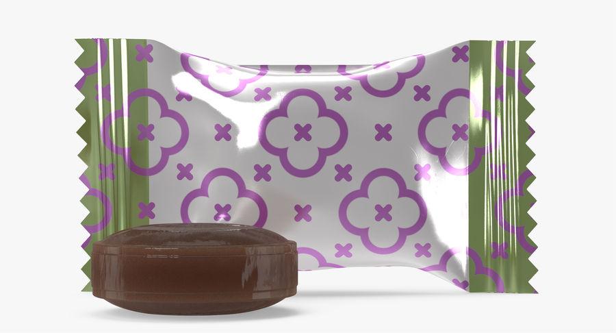 Empacotamento modelado dos doces duros do caramelo v2 royalty-free 3d model - Preview no. 12