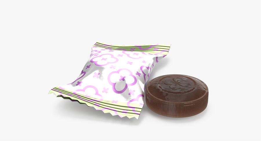 Empacotamento modelado dos doces duros do caramelo v2 royalty-free 3d model - Preview no. 4