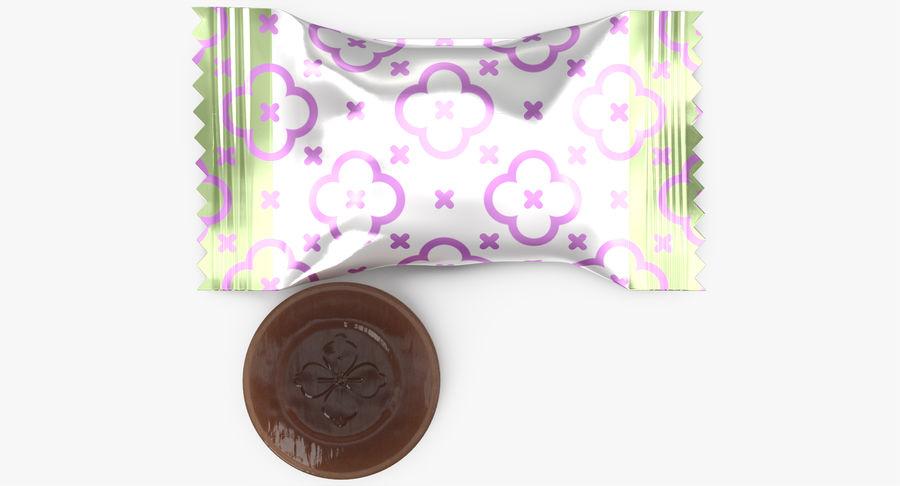 Empacotamento modelado dos doces duros do caramelo v2 royalty-free 3d model - Preview no. 6