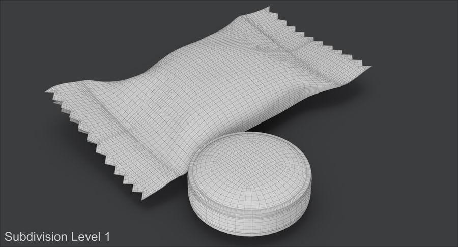 Empacotamento modelado dos doces duros do caramelo v2 royalty-free 3d model - Preview no. 14