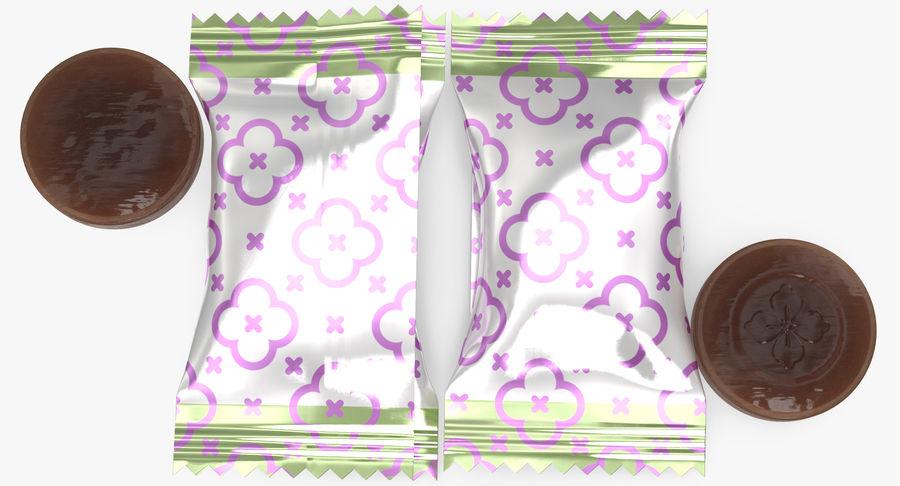 Empacotamento modelado dos doces duros do caramelo v2 royalty-free 3d model - Preview no. 9