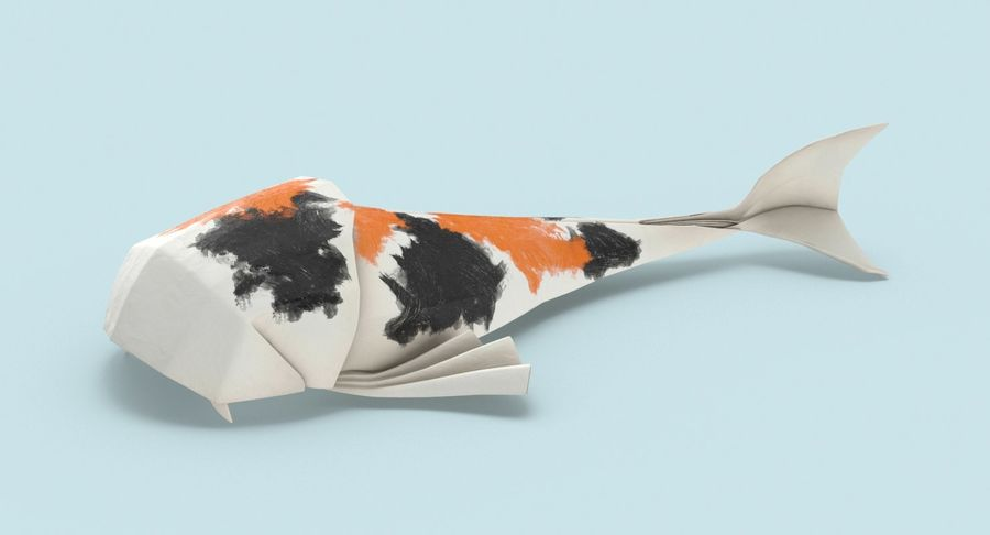You Should Definitely Give a Carp about these Beautiful Origami Koi | 486x900