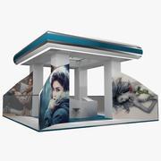 Ausstellung Expo Stand 3d model