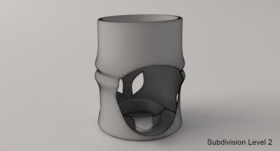 Aroma Lamp royalty-free 3d model - Preview no. 9
