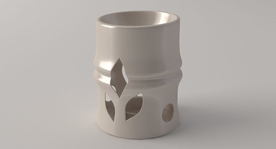 Aroma Lamp royalty-free 3d model - Preview no. 2