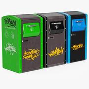 Reciclaje de basura 2 modelo 3d