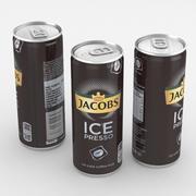 飲料缶ジェイコブスアイスプレッソ250ml 3d model