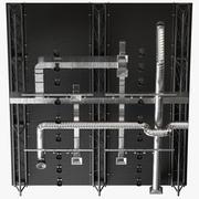 Ventilación de techo 7 modelo 3d