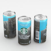 Beverage Can Starbucks Doubleshot Espresso 200ml 3d model